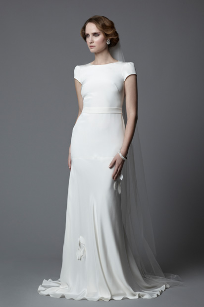 Wedding dresses with sleeves vintage bridal gowns with sleeves tallulah shoulder covering cap sleeves wedding dress junglespirit Choice Image